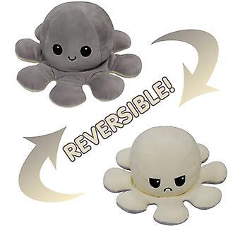 Vendbar blæksprutte plushie plys legetøj
