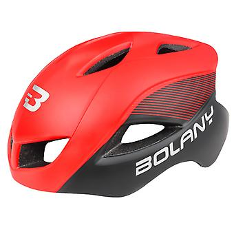 Bicycle Helmet Outdoor Sports Cycling Safety Helmet Cycling 12 Vents,red