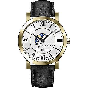 LLARSEN Analogueic Watch Quartz Man with Leather Strap 180GWB3-GINK20