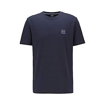 בוס סיפורים חולצת טריקו, כחול (כחול כהה 404), X-גדול גברים
