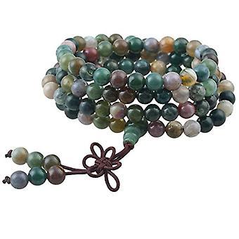 KYEYGWO 108 - Bracelet with Mala prayer pearls for men and women, 6 mm, with Tibetan Buddhist healing stone, unisex, Ref. 0635946998861
