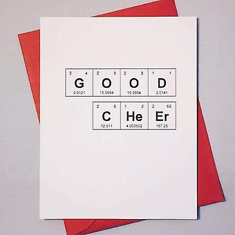 Good Cheer Sentimental Elements Card