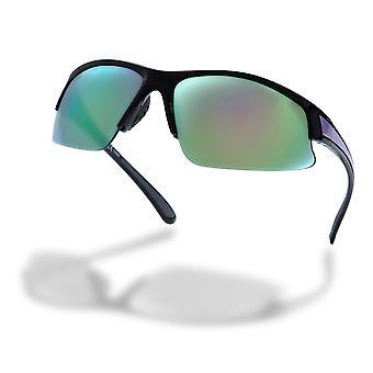 Högre state half frame wrap kvinnors kör solglasögon - AW21