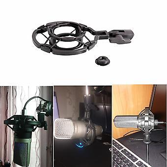Universal Microphone Shock Mount Condenser Mic Stand Holder Radio Studio
