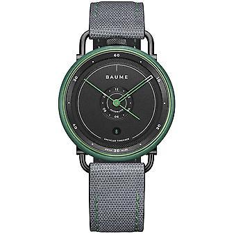 Baume & Mercier M0a10590 Ocean Limited Edition Automatic Grey & Green Mens Watch