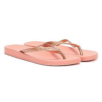 Ipanema Anatomica Tan 21 Womens Pink Flip Flops