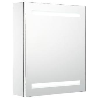 vidaXL LED badkamer spiegelkast 50 x 14 x 60 cm