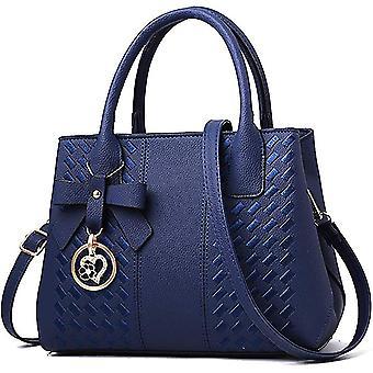 女性ファッションレディースレザートップhle dt6688のための青い財布hbags