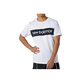 New Balance MT11548WT universal ganzjährig Herren T-shirt