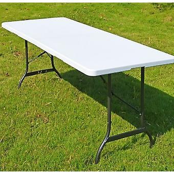 Aluminium Klappbuffet Tisch 183X76X74 cm