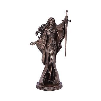Estatueta de Bronze senhora do lago