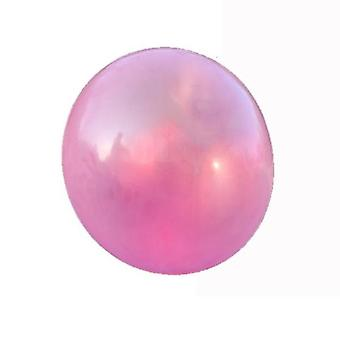 Pink 12x12cm water-fillable balloon water ball bubble ball children's bouncy ball safe and soft homi3194