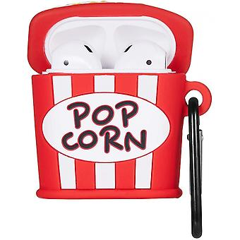 Popcorn Case For Airpods 1&2, Cute 3d Funny Cartoon Character Cover