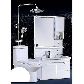 Ensemble de toilettes Sanitaires Douche Maillot de Bain Avec Un Lavabo