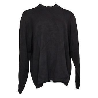 Joan elver klassikere samling kvinner ' s genser mock Neck svart A235228