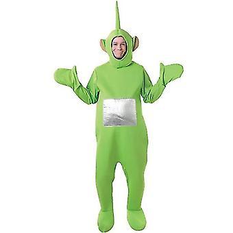 Teletubbies Kostüm für Erwachsene, Party, Cosplay (Grün)