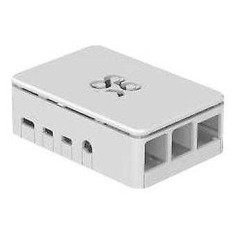 OKdo Raspberry Pi 4 standard sag, 3 stykke design, hvid