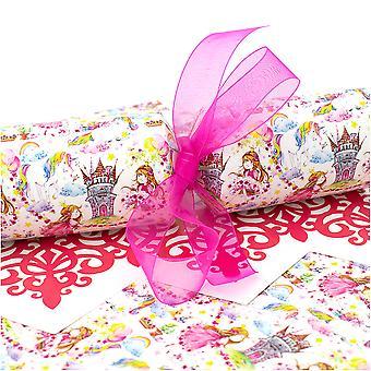 10 große Märchenprinzessin Cracker - Machen und füllen Sie Ihr eigenes Kit ohne Bänder