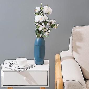 Vases modern contemporary style vases for decor blue