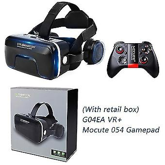 Shinecon actualizó z4 vr gran experiencia inmersiva de visualización vr box gafas de realidad virtual 3D con