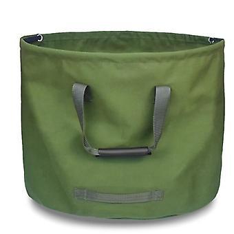 Mimigo réutilisable Canvas Sacs de déchets de jardin, Sacs de jardinage lourds, Piscine pelouse Sac à déchets de feuilles de jardin avec gants collecte feuilles Herbe Tontes Yar