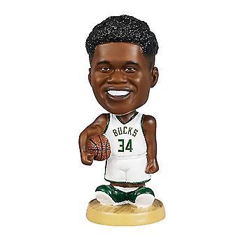 Venalisa Giannis Antetokounmpo Figurine d'action Statue Bobblehead Basketball Doll Décoration