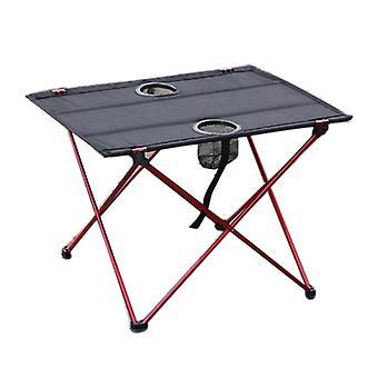 屋外ピクニックテーブルと椅子セットアルミニウム合金折りたたみテーブル