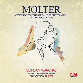 Johann Melchior Molter - Molter: Concerto voor trompet & orkest No. 1 USA import