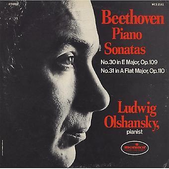 Ludwig Olshansky - Beethoven: Piano Sonatas No. 30 & No. 31 [CD] USA import