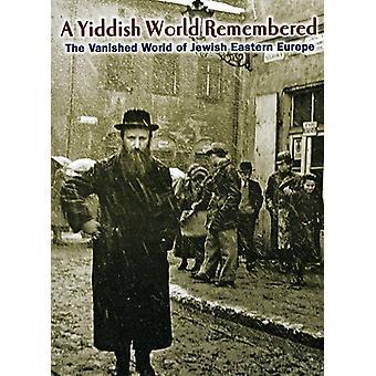 Importer des USA yiddish monde rappeler [DVD]