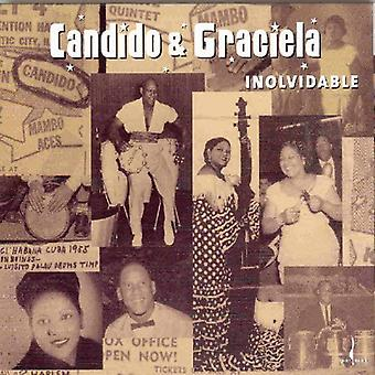 Candido & Graciela - Inolvidable [CD] USA import