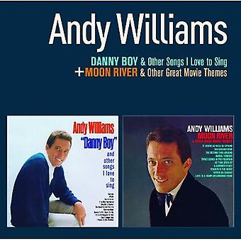 Andy Williams - Danny Boy + Moon River [CD] USA import