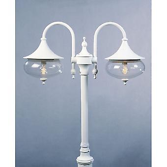 Konstsmide Libra Outdoor Twin Head Lamp Post