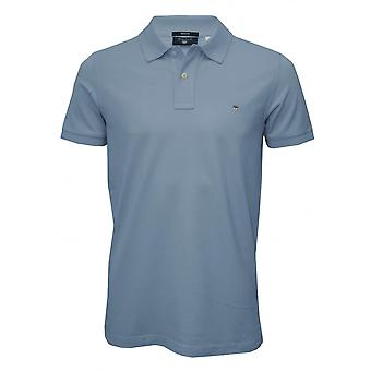 GANT Solid Pique Polo Shirt, Capri Blau