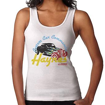 Haynes Custom Car Commandos Drag Hotrod Women's Vest