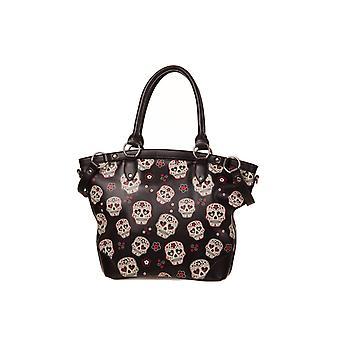 Banned Sugar Skull Mesmerize Handbag