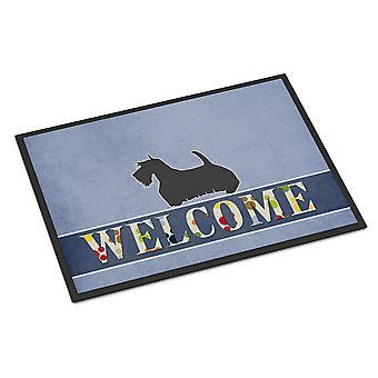 スコティッシュ ・ テリアは、屋内または屋外マット 24 x 36 を歓迎します。