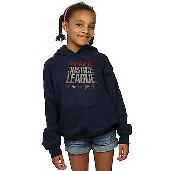 DC Comics Girls Justice League Movie United We Stand Hoodie