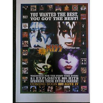 Kiss The Very Best Poster