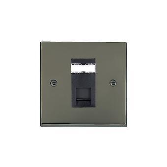 Hamilton Litestat Cheriton Victoriaans zwart nikkel 1g RJ12 Outlet-Unshield BL
