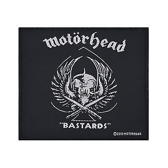 Motorhead Bastards Woven Patch