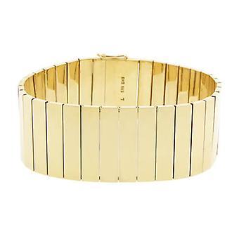 14 k Yellow Gold link bracelet