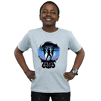 Harry Potter Boys Attack Silhouette T-Shirt