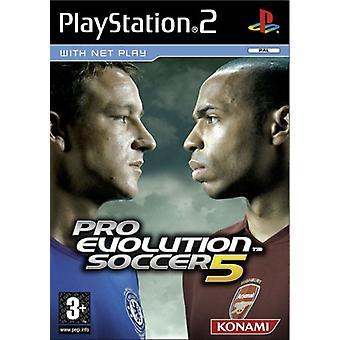 Pro Evolution Soccer 5 (PS2) - Usine scellée