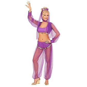 Harem skönhet kostym - lila