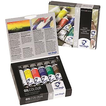 Van Gogh Oil Colour 6 x 20ml Paint Set