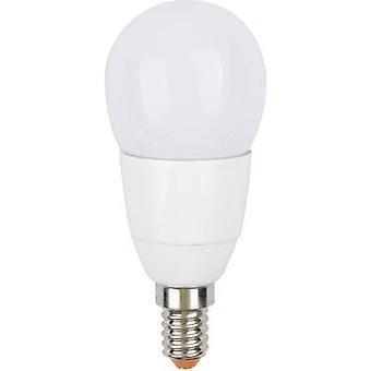 JEDI Beleuchtung JE01498 LED (monochrom) EEC B (A++ - E) E14 Droplet 3.2 W RGB (x L) 45 mm x 106 mm dimmbar, farbverändernd, inkl. Fernbedienung 1 Stück