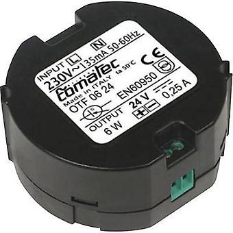 Comatec OTF/06.24RA AC/DC PSU module 0.25 A 6 W 24 V DC