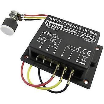 كيمو M195 PWM وحدة تحكم الطاقة مكون 9 V DC، 12 V DC، 24 V DC، 28 V DC
