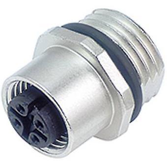 Liant 09-3432-578-04 M12 capteur / actionneur connecteur, revisser le bouchon, tout droit